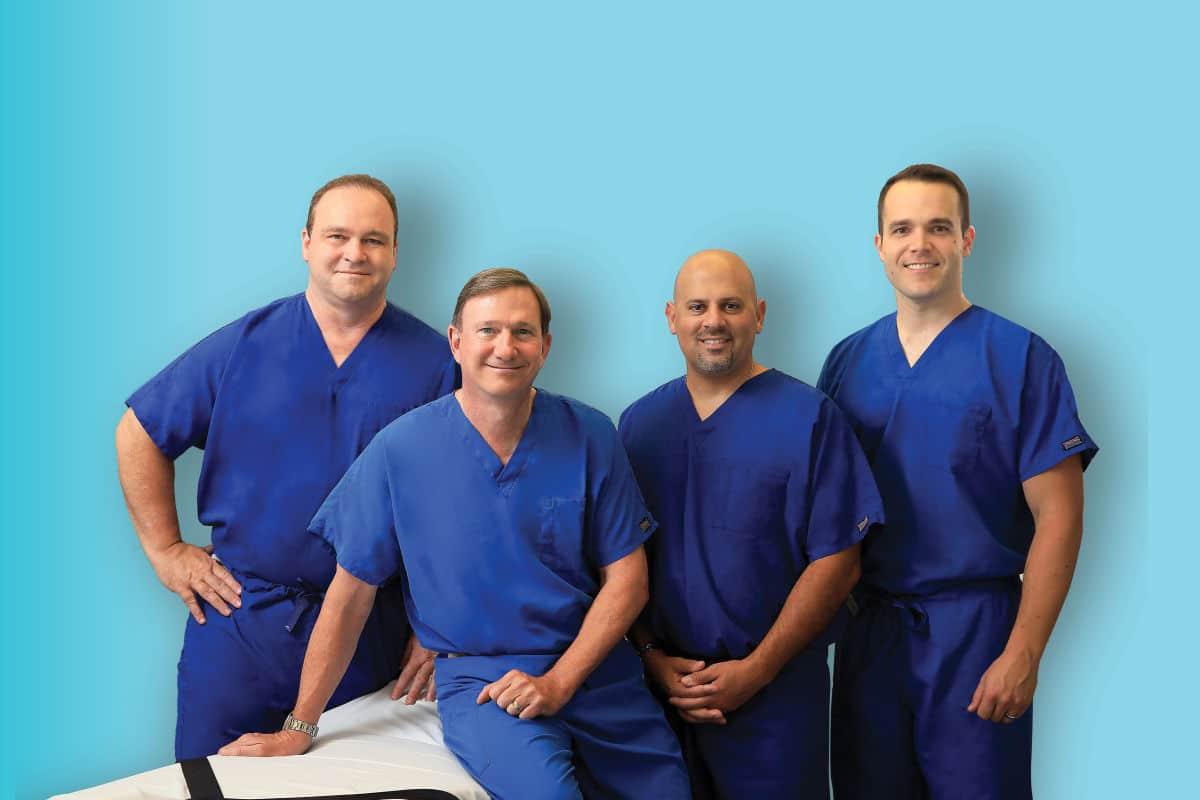 group of plastic surgeons