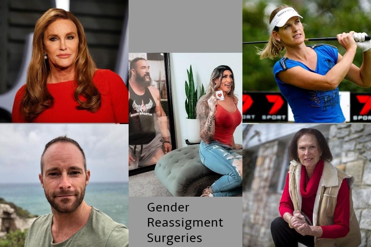 Gender Reassignment celebrities